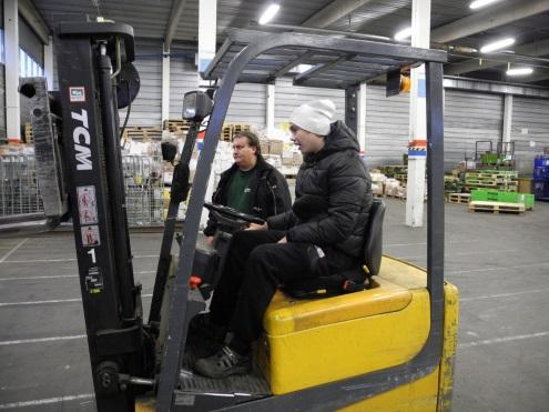 Truckförarutbildning stockholm